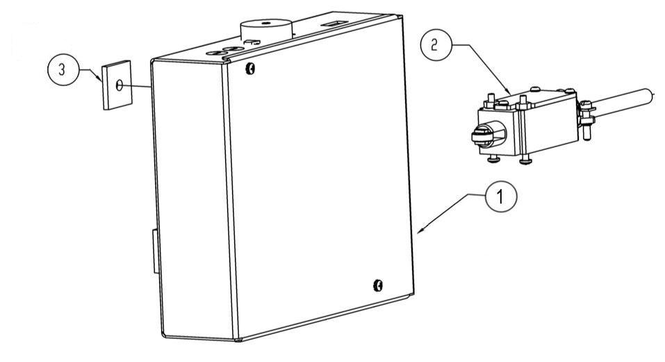 u0026 39 profile u0026 39  control box with safety switch